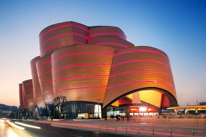 Архитектурный проект компании Stufish Entertainment Architects.