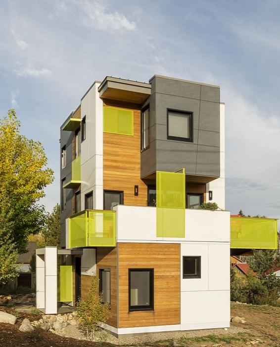 Проект архитектора Erik Lobeck.