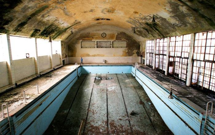 Олимпийский бассейн.