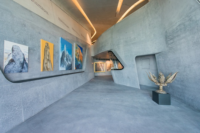 MMM Corones. Экспозиции музея.