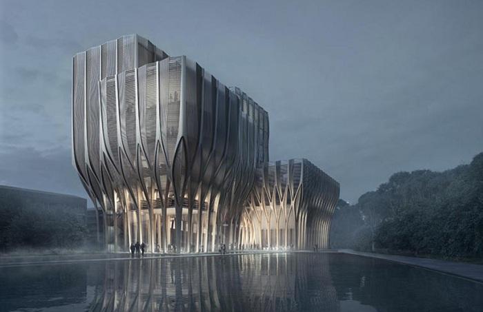 Sleuk Rith - будущий Исследовательский центр Камбоджи.