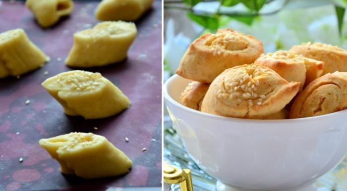Соленое сырное печенье - отличная закуска к пиву.