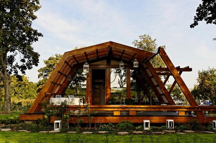 Soleta ZeroEnergy One - дом, построенный из экологически чистых материалов.