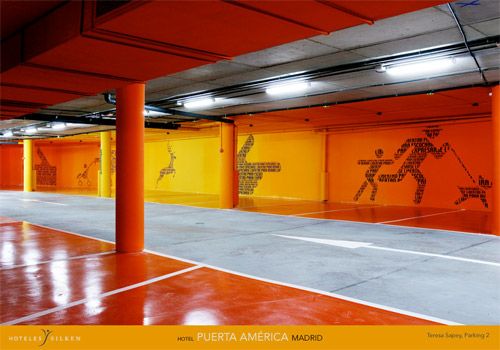 Car parking by Teresa Sapey