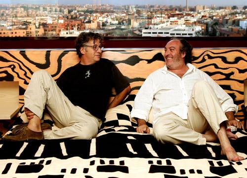 Javier Mariscal and Fernando Salas