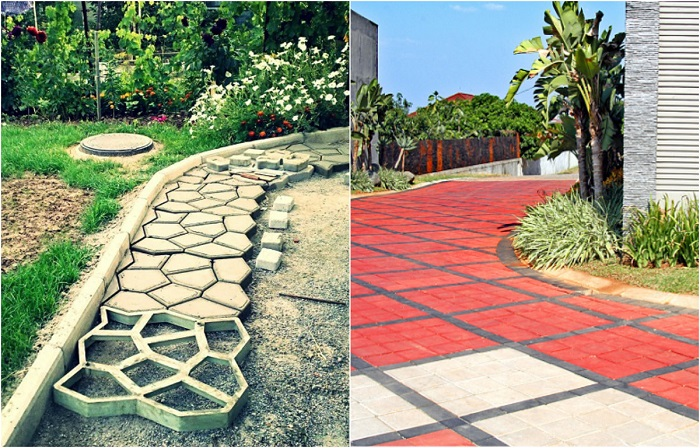 Садовые дорожки, которые станут украшением любого дачного участка.