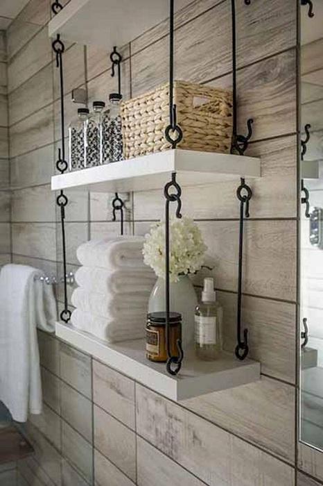 Практичные полки для мелких вещей, с которыми порядок будет в любом помещении.