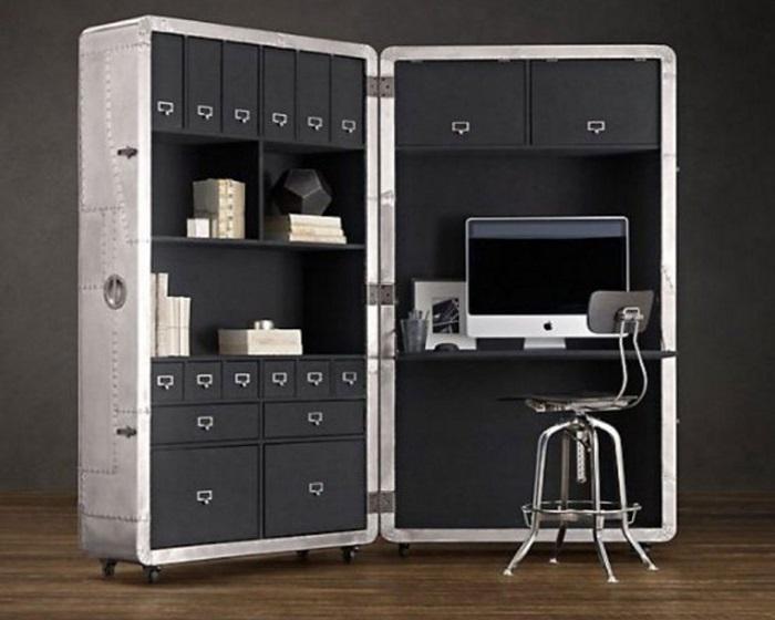 Многофункциональная мебель-трансформер в интерьере малогабаритной квартиры.