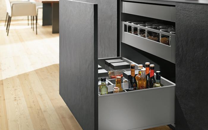 Новая эпоха ящиков для кухни.