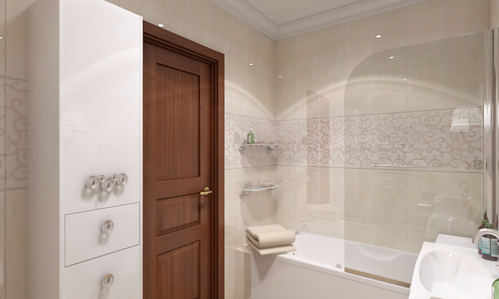 Керамическая плитка с рисунком для ванной комнаты является наиболее трендовым отделочным материалом.