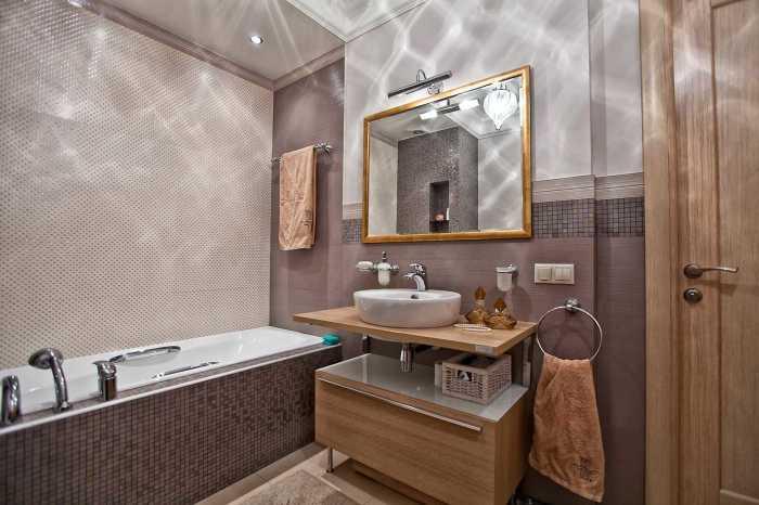 Великолепные идеи оформления ванных комнат, которые стоит взять на заметку.
