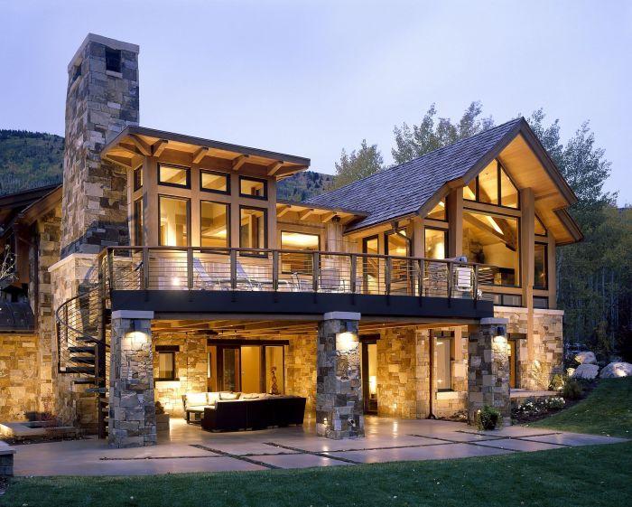 Рустикальный стиль отражает самобытность деревенских домов, являясь одним из наиболее приближенных к природе.