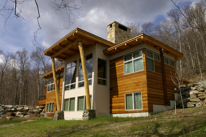 Наиболее современной и перспективной конструкцией является массивная деревянная панель.