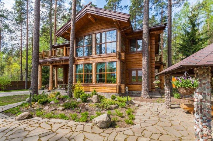 Рустикальный стиль – относительно новая тенденция в оформлении дизайна загородных домов.