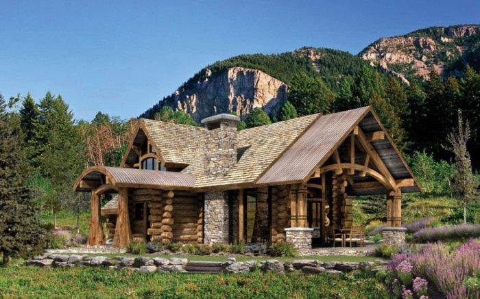 Стильный коттедж, в котором можно полноценно насладиться отдыхом в гармонии с природой.