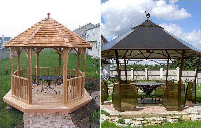 Безупречные садовые беседки, которые можно построить на своём дачном участке уже сегодня.