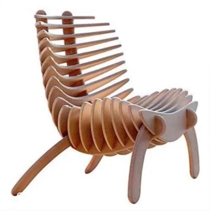 Дизайнерское массажное кресло-конструктор для создания неповторимого интерьера.