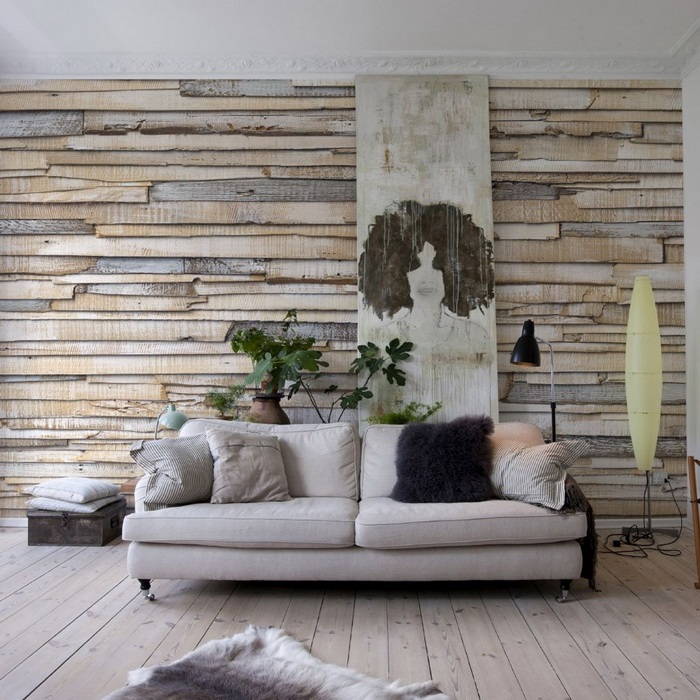 Использование натуральных материалов в интерьере позволит создать особый изысканный стиль.