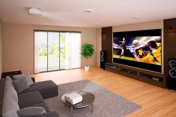 Современный проектор для домашнего кинотеатра представляет собой устройство, которое может полностью заменить плазменный экран.