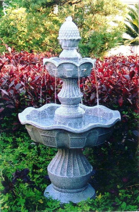 Мраморный фонтан для настоящих аристократов.