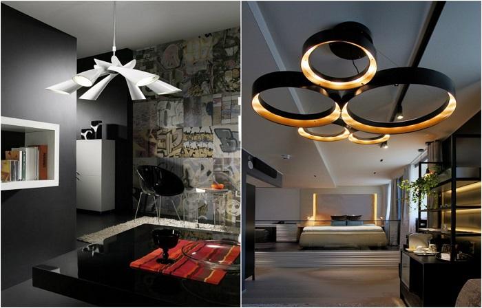 Дизайнерские светильники в стиле хай-тек, которые сделают жизнь светлее.