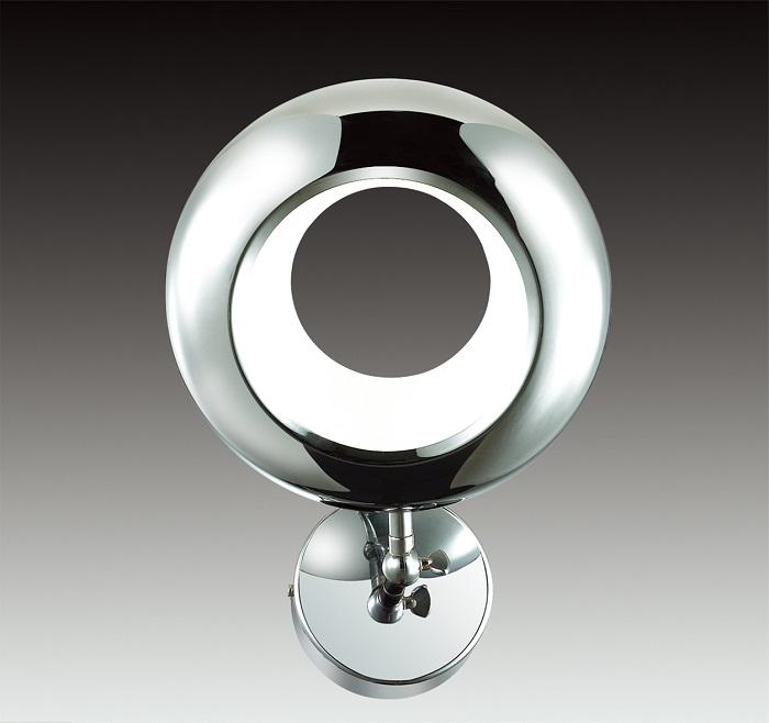 Оригинальный внешний вид подобного светильника помогает превратиться ему в оригинальный декоративный элемент.