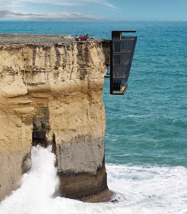 Концепт «Cliff House» австралийской компании «Modscape Concept».