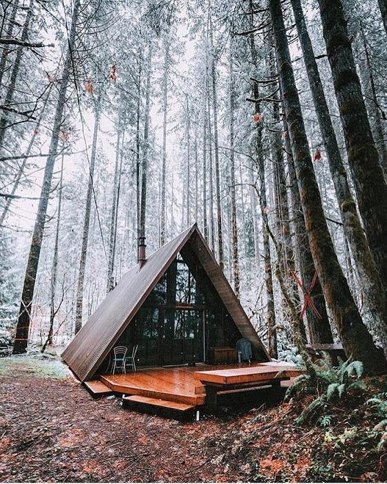 Очаровательный и практичный загородный домик для отдыха, Калифорния.
