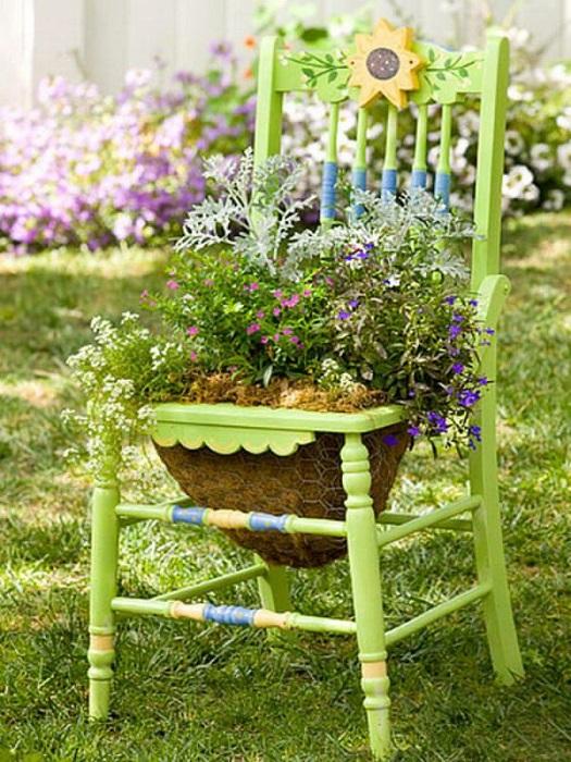 Старая мебель -  это удивительный и многообразный источник для фантазии любого дизайнера.