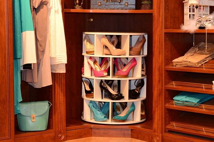 Оптимальный вариант для аккуратного размещения и хранения обуви.
