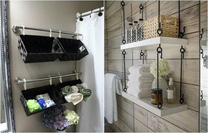 Системы хранения, которые помогут навсегда покончить с беспорядком в ванной комнате.