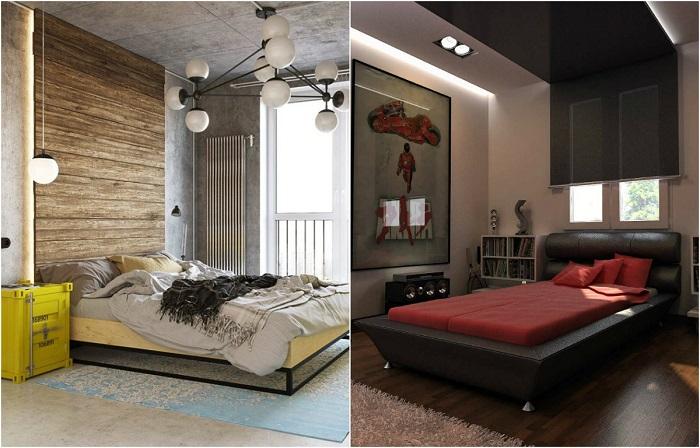 Идеи по обустройству современной спальной комнаты.