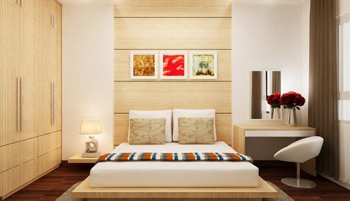 Большое количество деревянных поверхностей помогут создать приятную и успокаивающую атмосферу.