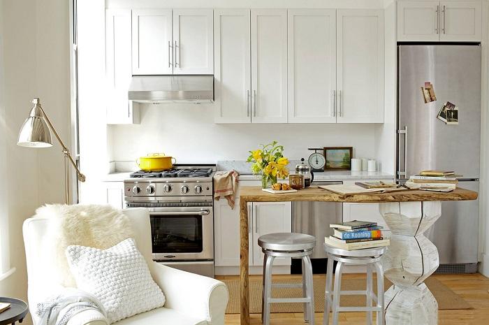 Для современного дизайна кухни подходит практически любая цветовая гамма.