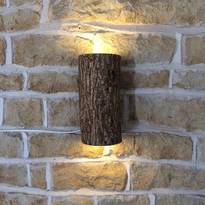 Отличный настенный светильник для наружного освещения, который можно смастерить своими руками.