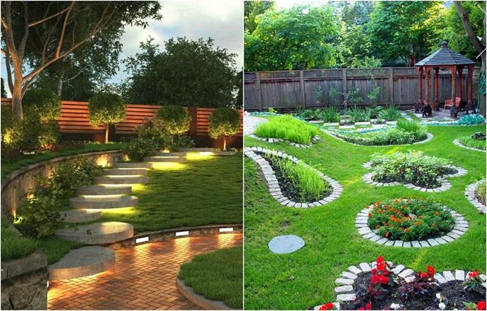 Очаровательные идеи, которые помогут озеленить крошечный дачный участок.