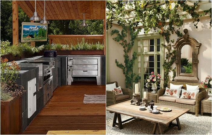 Идеи по обустройству летней кухни, которая удивит гостей и соседей.
