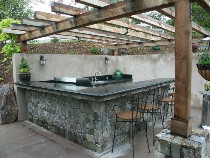 Современна летняя кухня - это не только место для приготовления пищи, но и место для полноценного и комфортного отдыха.
