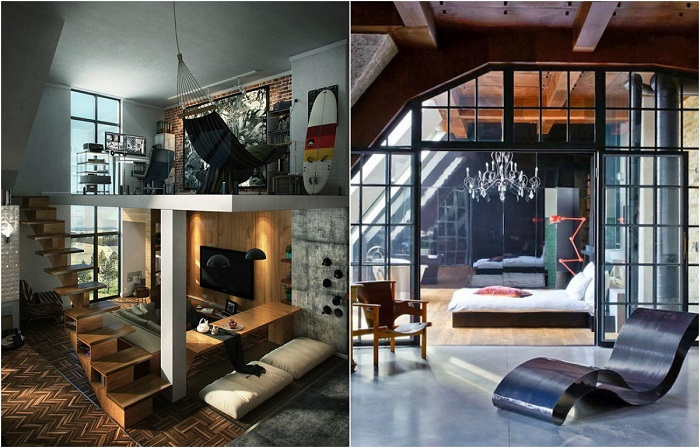 Творческие идеи оформления спальной комнаты.