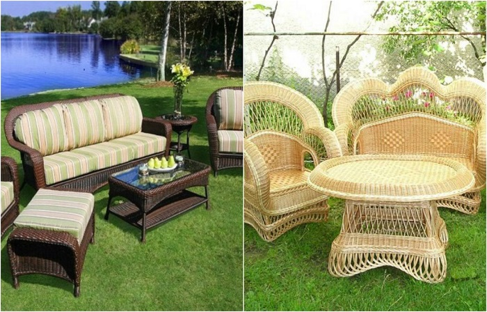 Мебель из ротанга, которая поможет освежить и украсить дачный участок без особых затрат.