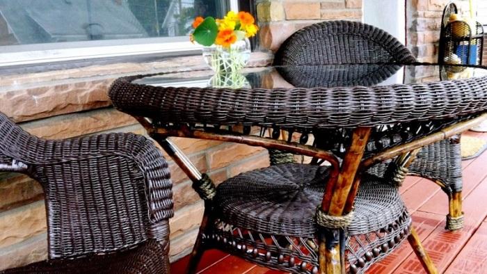 Мебель из ротангов поможет наполнить интерьер теплом и красотой.