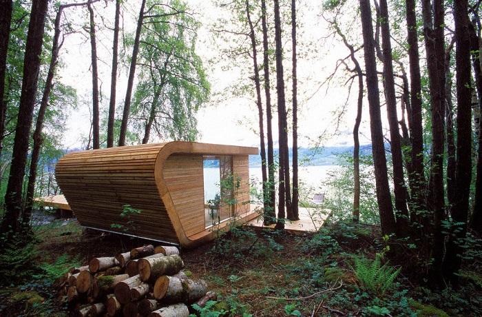 Идеальный домик для тех, кому хочется быть поближе к дикой природе.