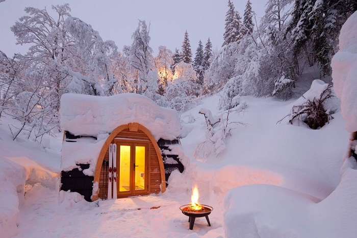 Чудесный однокомнатный домик, в котором вам обязательно захочется поселиться.