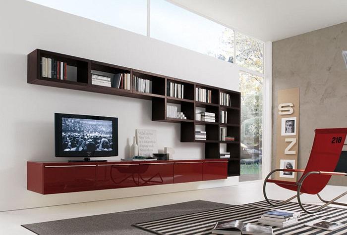 Отличная идея, которая превратит зону для просмотра телевизора в место сказочного отдыха.