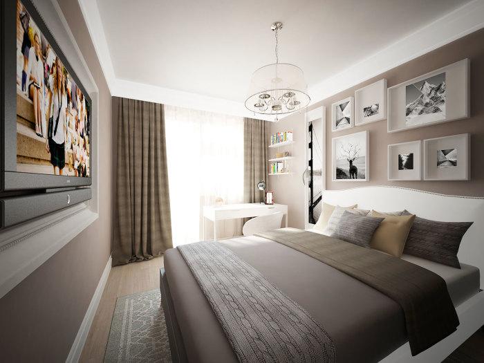 Серый цвет в интерьере спальной комнаты — это не только его основная составляющая, но и определённая атмосфера.