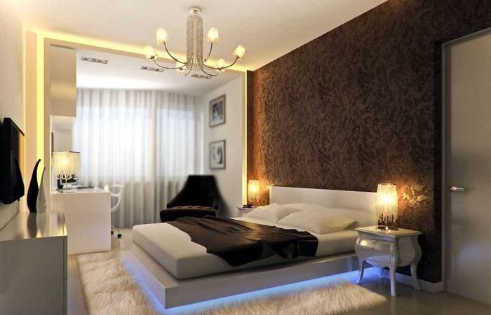 Как оформить спальню в современном стиле, которая придётся по душе каждому.