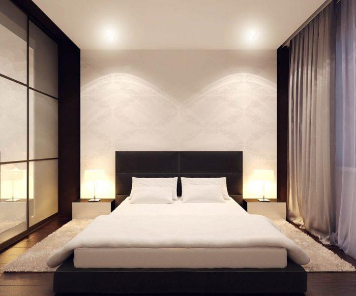 Минимализм в интерьере спальной комнаты – это стиль, для которого характерны сдержанность и строгость в оформлении.