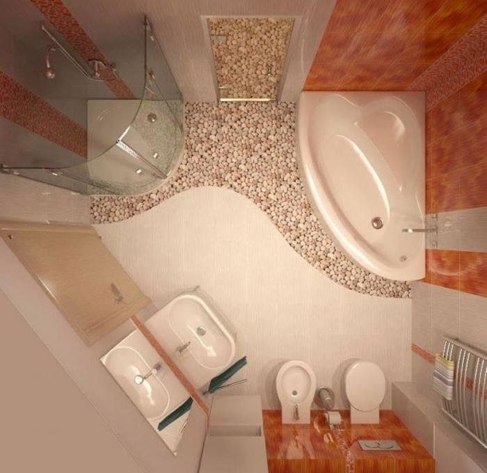 Маленькая ванная комната – это проблема для тех, кто хочет сделать её не только функциональной, но и стильной.