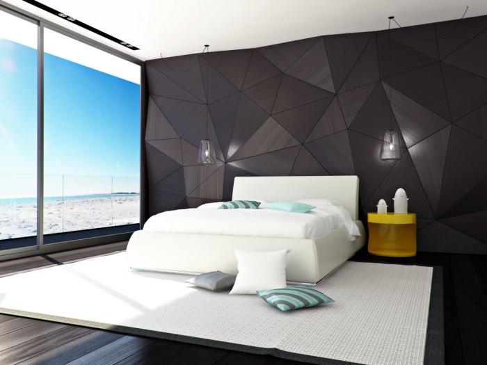 Комната для отдыха с панорамными окнами, которые создают совершенно особую атмосферу.