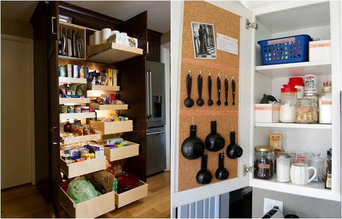 Организация пространства в малогабаритной кухне.
